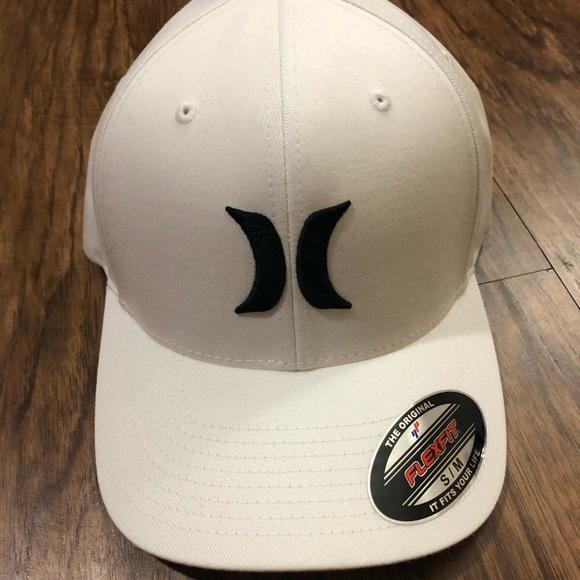 f509b23153a71 HURLEY The Original Flexfit Hat Color White Size